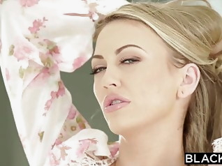 blonde blowjob facial